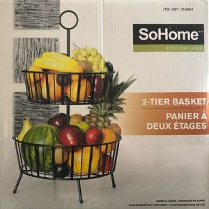 Other - SoHome 2 tier basket